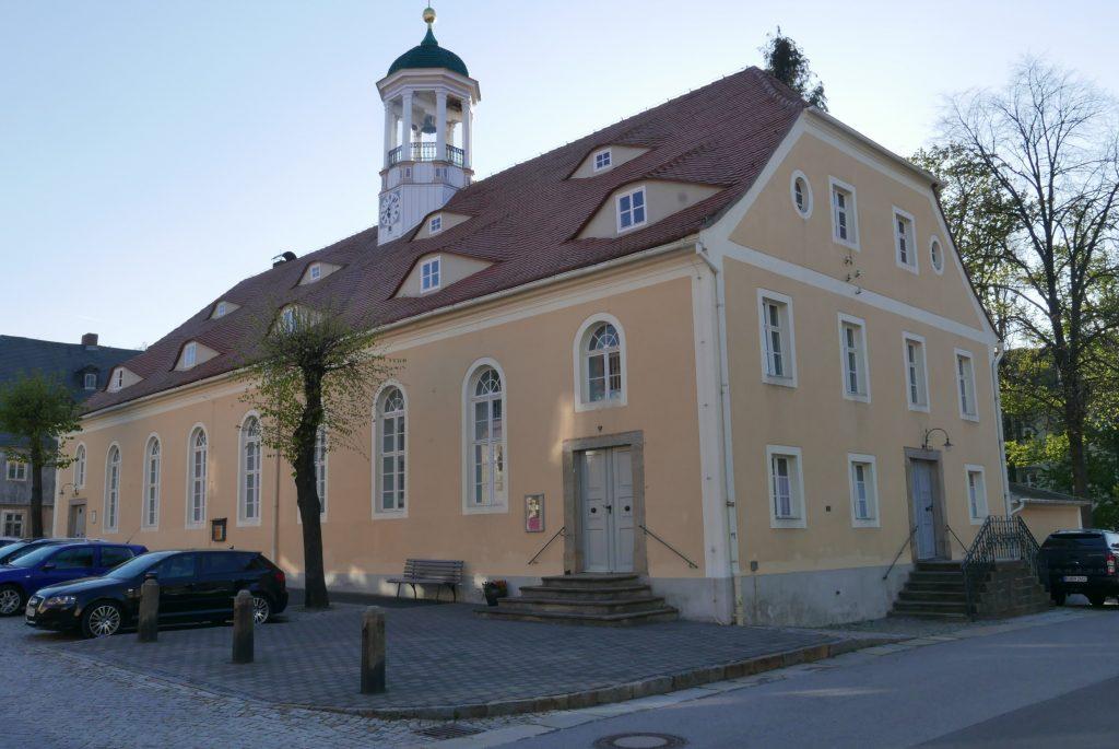Der Kirchensaal in Kleinwelka. 2019 (R. Malink).